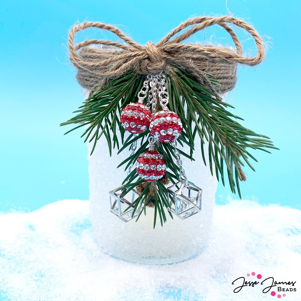 Santa's Workshop Candle Jar Tutorial