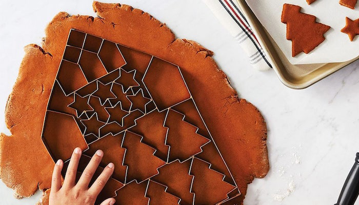 Target Is Selling A Giant Cookie Cutter That Makes 24 Christmas Cookies At Once