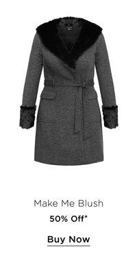 Shop 50% Off the Make Me Blush Coat