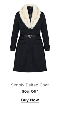 Shop 50% Off the Simply Belted Coat