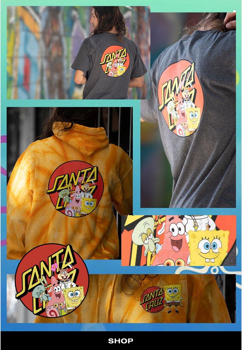 Shop   Spongebob santa-cruz