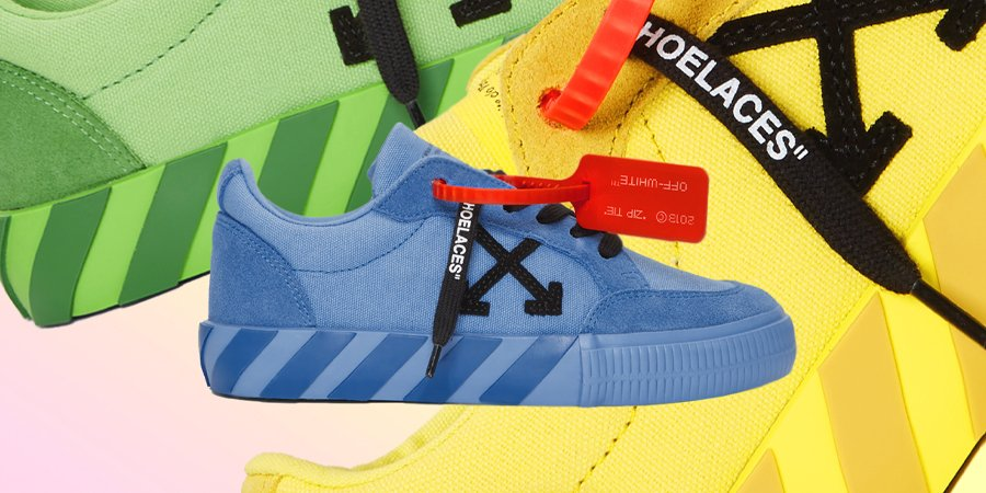 SSENSE-Exclusive Off-White Vulcanized Low Sneakers