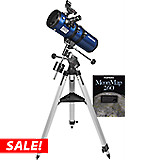 Orion StarBlast II 4.5 EQ Reflector & AstroTrack Motor Drive - 20710 - Now: $209.99