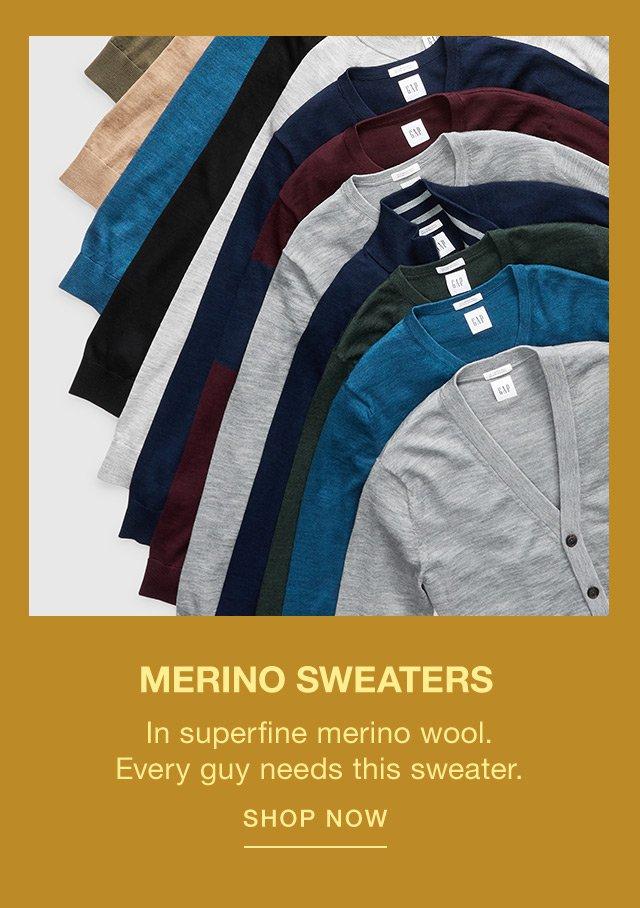 MERINO SWEATERS