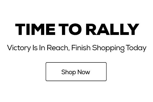 Rally Before It's Too Late