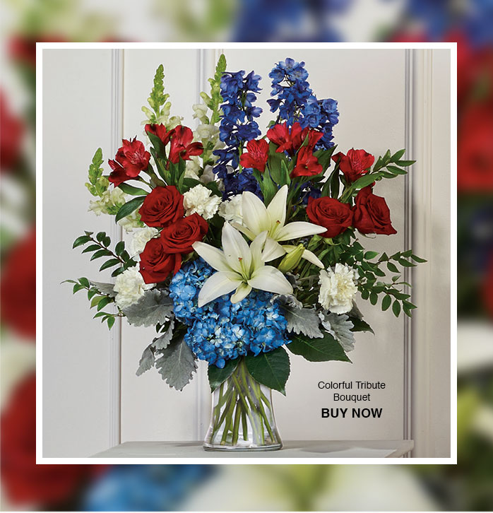 Colorful Tribute Bouquet