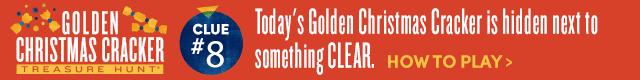 Golden Cracker Treasure Hunt* Clue #8. How To Play›