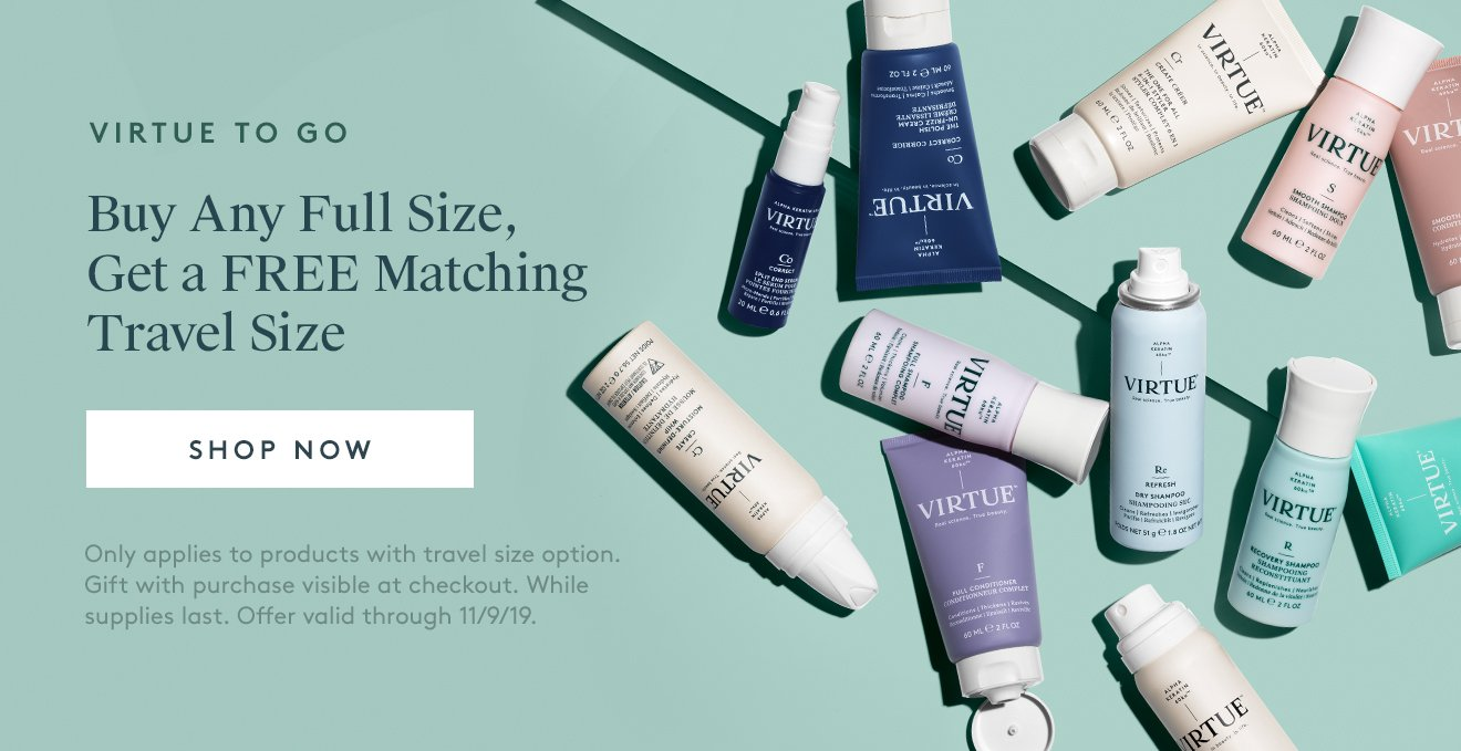 Buy Full Size, Get a Free Matching Travel Size