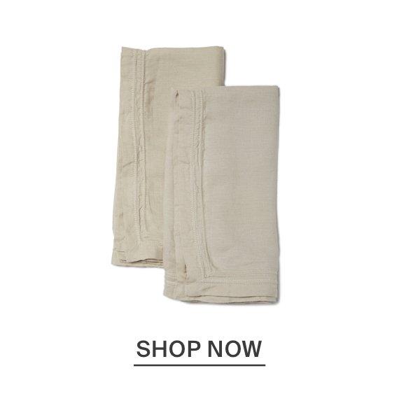 Washed Linen Napkins - Natural