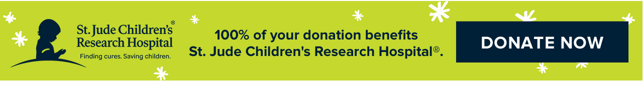 100% of your donation benefits. St. Jude Children's Research Hospital. Donate Now.