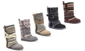 Muk Luks Women's Nikki 3-in-1 Water Resistant Boots (Up to Size 11)