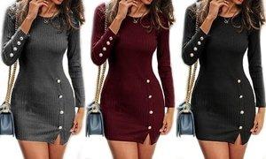 Leo Rosi Women's Irene Dress. Plus Sizes Available
