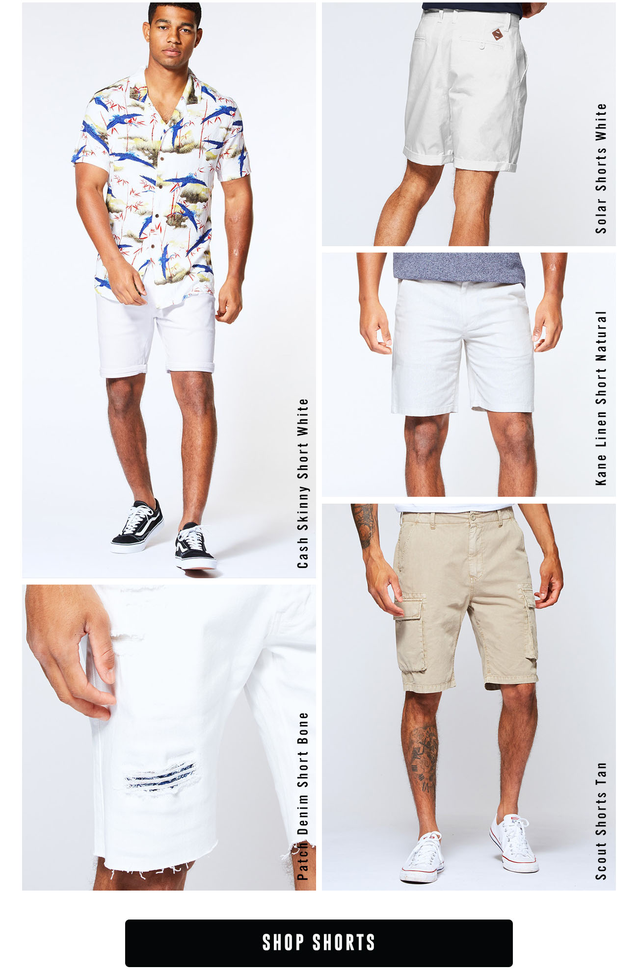 If you need Denim or Chino shorts, we've got them!