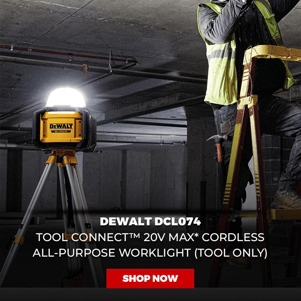 DeWALT DCL074 20-Volt 5000-Lumen All-Purpose Cordless Work Light - Bare Tool