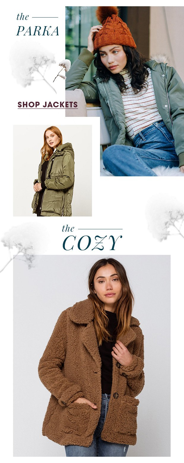 Shop Women's Must-Have Jackets