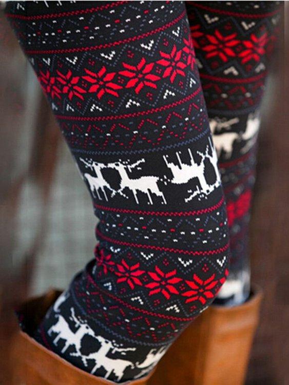 Graphic Christmas legging