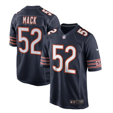 Khalil Mack Chicago Bears Nike Game Jersey - Navy