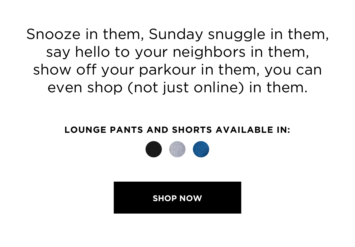 Mega Soft Men's Loungewear