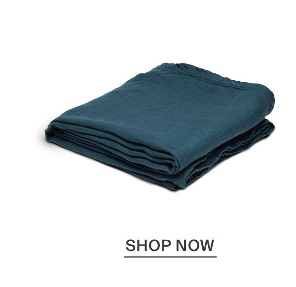 Washed Linen Tablecloth - Teal