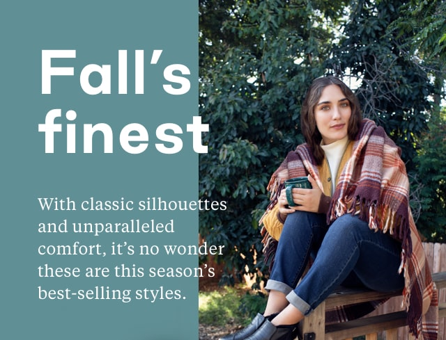 Classic silhouettes for fall