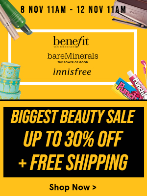 Biggest Beauty Sale: Up to 30% Off + Free Shipping!