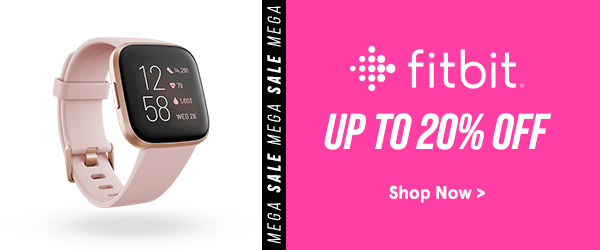 Fitbit up to 20% Off