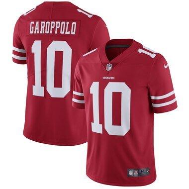 Nike Jimmy Garoppolo San Francisco 49ers Scarlet Vapor Untouchable Limited Jersey