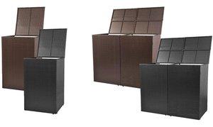 Container-ombouw, enkel of dubbel