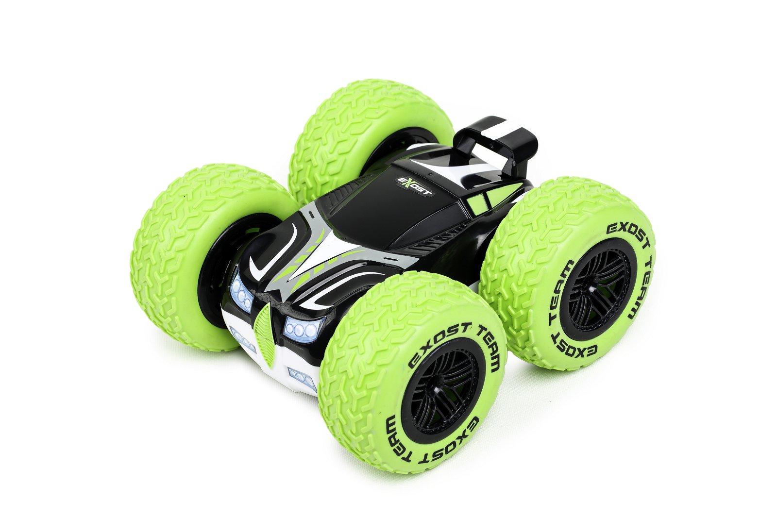 Машина 360 кросс на радиоуправлении 1:18 зеленая