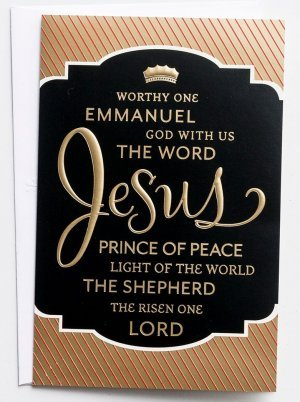 Names of Jesus Christmas Cards Box of 18