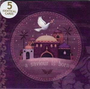A Saviour Is Born Pack of 5