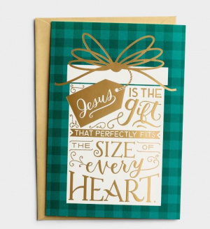 Jesus Is The Gift 18 Boxed Christmas Cards