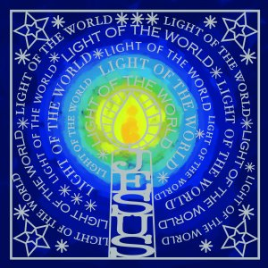 Light of the World Charity Christmas Card Pack of 10