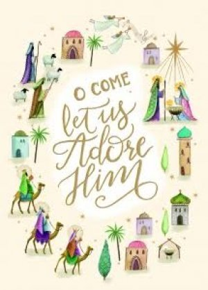 Tearfund O Come Let Us Adore Him Christmas Cards Pack of 10