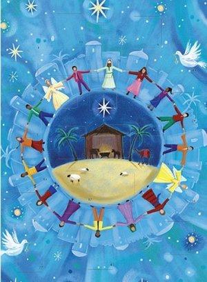 A4 Peace on Earth Advent Calendar