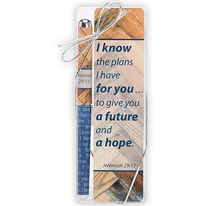 Jeremiah 29:11 Plans Bookmark and Pen Set