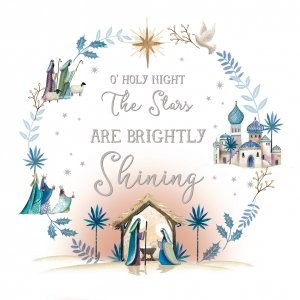 Holy Night Charity Christmas Cards Pack of 10