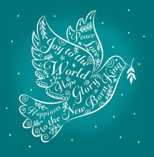Messenger of Peace Charity Christmas Cards Pack of 10