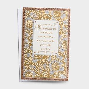 Wonderful Saviour Christmas Cards Box of 18