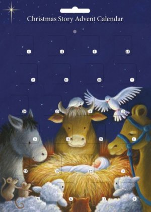 Children's Christmas Story A4 Advent Calendar