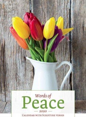 Words of Peace 2020 Calendar