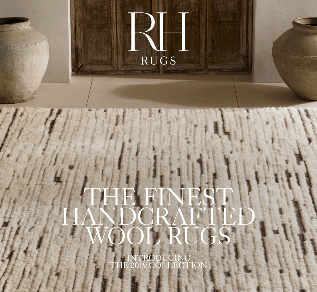 RH, The Finest Handcrafted Wool Rugs, Introducing The 2019 Collection