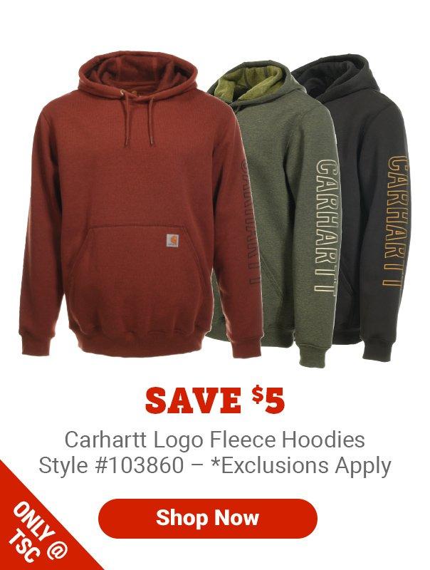 Carhartt Fleece Hoodies
