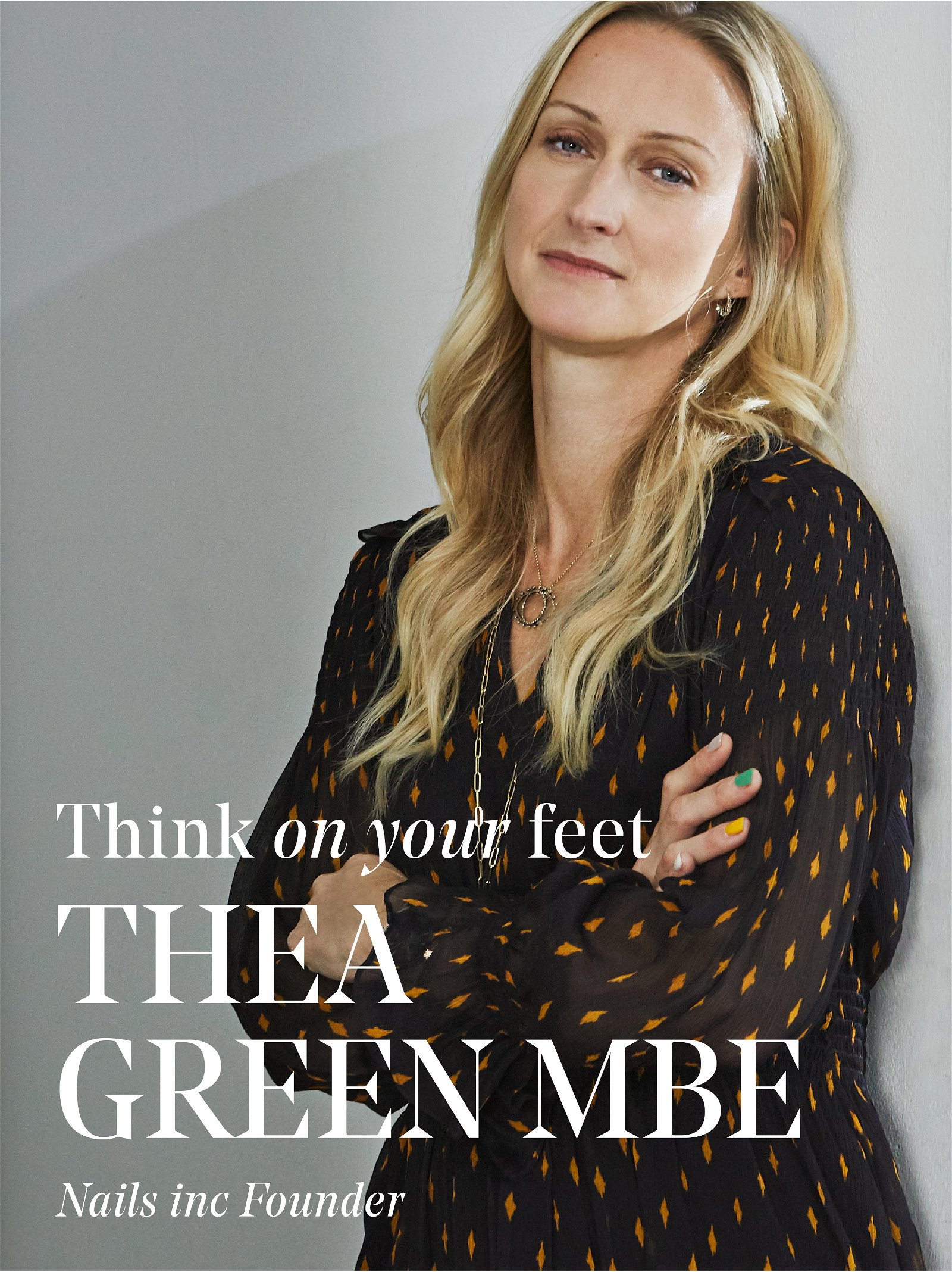 Think On Your Feet - Thea Green MBE
