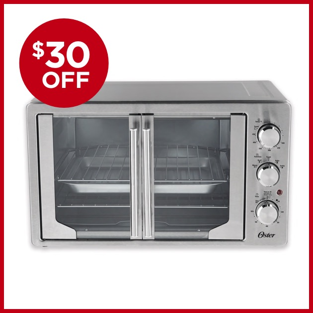 $30 OFF Oster® French Door Oven with Convection