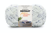 Bernat Softee Chunky Tweeds, Midnight White Image