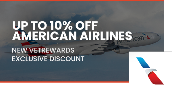 American Airlines - up to 10%