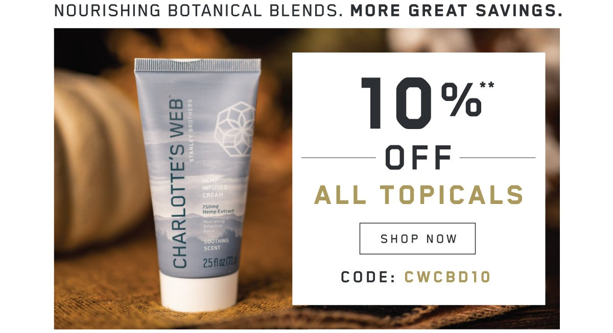 10% off sitewide using code CWCBD10