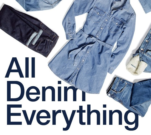 All Denim Everythin