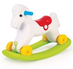 Dolu 2in1 Rocking Horse With Wheels